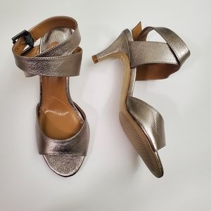 J.Renee Soncino Leather Ankle Strap Sandals
